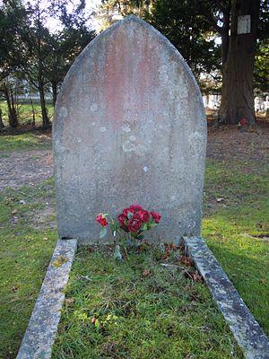 Abdullah Yusuf Ali - Grave of Abdullah Yusuf Ali in Brookwood Cemetery