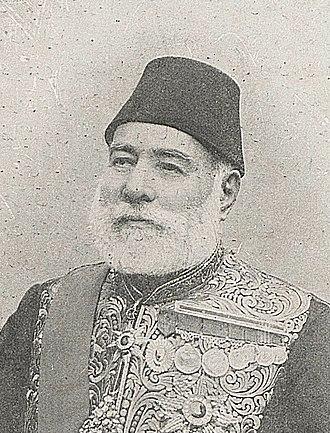 Abdurrahman Nurettin Pasha - Image: Abdurrahman Nureddin Pasha