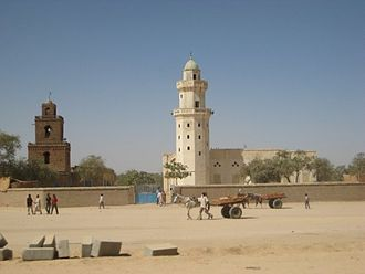 Islam in Chad - A mosque in Abéché, Chad