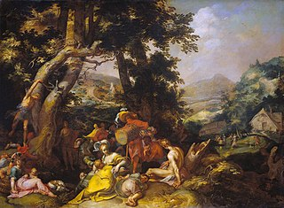 Landscape with the Ministry of John the Baptist