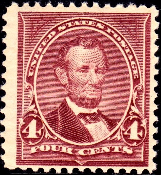 Abrahan Lincoln2 1898 Issue-4c