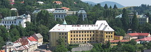 Banská Štiavnica - School buildings in Banská Štiavnica, end of 19th - early 20th century.