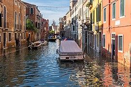 Acqua alta in Venice, Fondamenta del Squero, 2019.jpg
