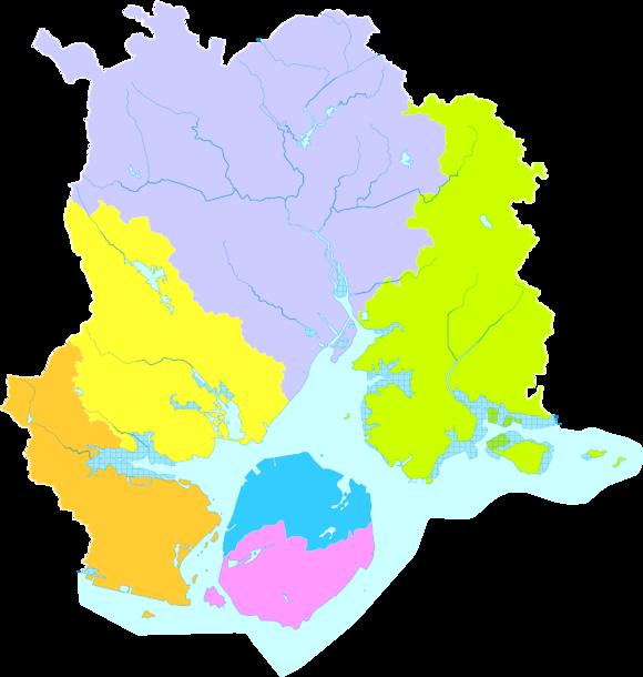 厦门市行政区划图 思明区