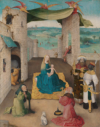 Amahl and the Night Visitors - Menotti was inspired by The Adoration of the Magi (Hieronymus Bosch, died 1516) to create Amahl and the Night Visitors.