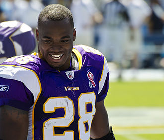 Minnesota Vikings - All-Pro running back Adrian Peterson was selected 7th overall by the Vikings in the 2007 NFL Draft, who played for the Vikings from 2007 to 2016.