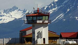 Teniente Julio Gallardo Airport - Image: Aeródromo Teniente Julio Gallardo, Puerto Natales, Chile