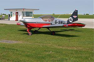Aero AT-3 R100 Light Aircraft at Sywell Northants - Flickr - mick - Lumix.jpg