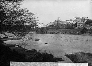 Llechryd - Afon Teifi at Llechryd c1885