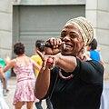 African music singer in São Paulo downtown, Brazil.jpg