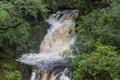 After the rain, Rhaeadrau Pontarfynach - The falls at Devils Bridge - Flickr - Dai Lygad.png