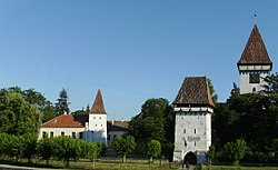 Saxon Fortified Church in Agnita