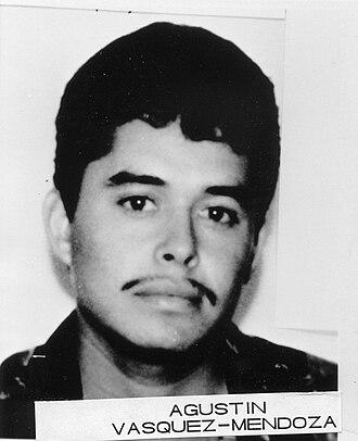 FBI Ten Most Wanted Fugitives, 1990s - Image: Agustin Vasquez Mendoza