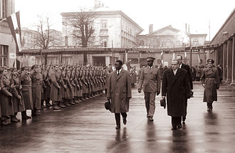 Guinea - President Ahmed Sékou Touré was supported by the Communist bloc states and in 1961 visited Yugoslavia.