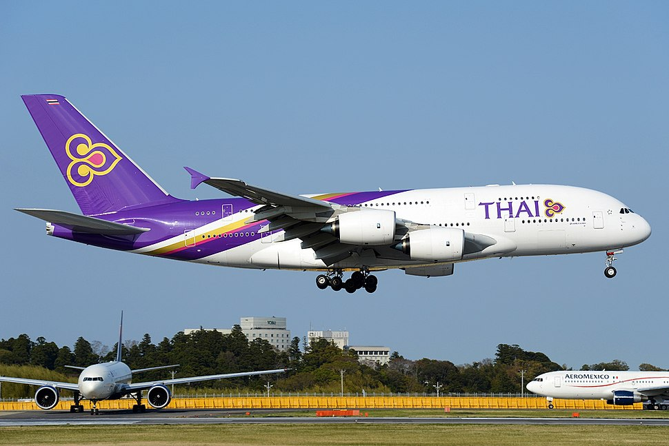 Airbus A380-841, Thai Airways International AN2253510