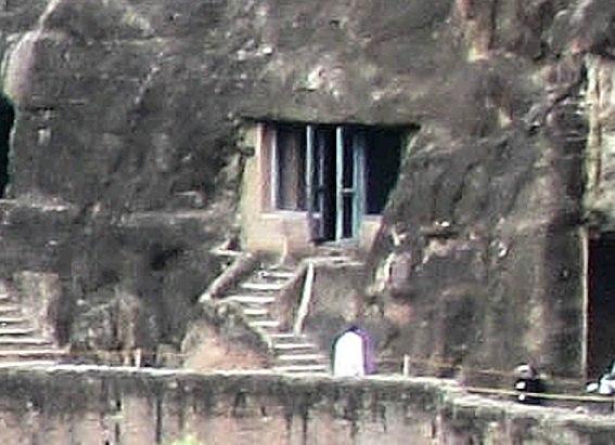 Ajanta Cave 13 exterior