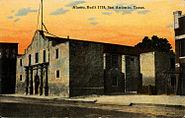 Alamo, San Antonio, Texas (Nic Tengg R-18684)