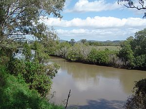 Albert River (South East Queensland) - Image: Albert River at Stapylton