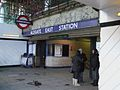 Aldgate East stn northwest entrance.JPG