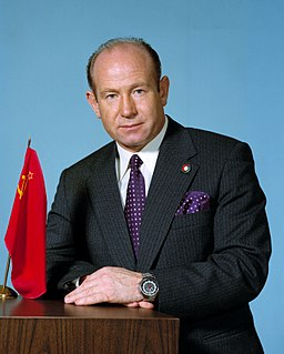 Alexei Leonov Soviet cosmonaut, first person to perform spacewalk