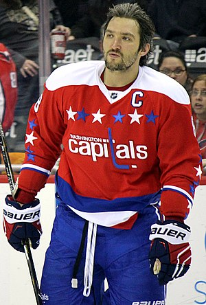 Ted Lindsay Award - Alex Ovechkin, three-time winner.
