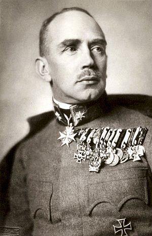 Alfred von Waldstätten - Baron Waldstätten in 1911