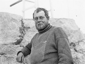 Alfred Hodgeman - Photograph of Alfred Hodgeman taken by Frank Hurley during the Australasian Antarctic Expedition