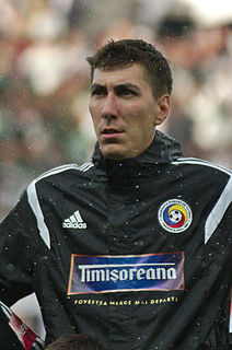 Costel Pantilimon Romanian footballer