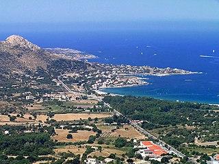 Algajola Commune in Corsica, France