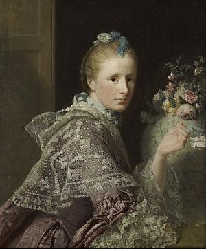 Margaret Lindsay Ramsay - Margaret Lindsay by Allan Ramsay (Scottish National Gallery)