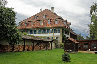Allmendingen bei Bern - Image: Allmendingen bei Bern, Herrenbauernhaus