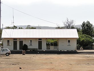 Almaden, Queensland - Almaden Railway Station