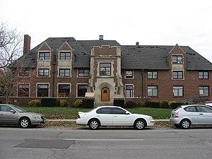 Alpha Tau Omega Fraternity House (West Lafayette, Indiana) - Alpha Tau Omega Fraternity House, November 2009