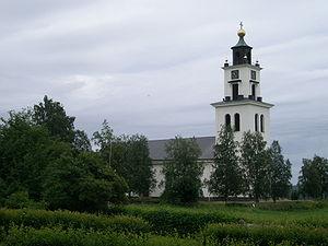 Alsen, Sweden - The church of Alsen