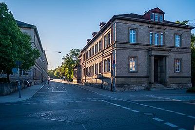 Alte Archäologie in Tübingen mit Blick in die Gmelinstraße von der Wilhelmstraße aus.jpg