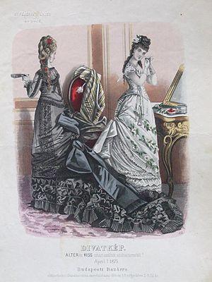 Alter és Kiss -  April 1875; Alter és Kiss Fashions