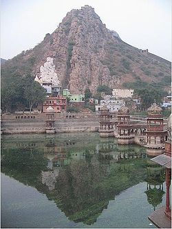Scenic landscape of Alwar