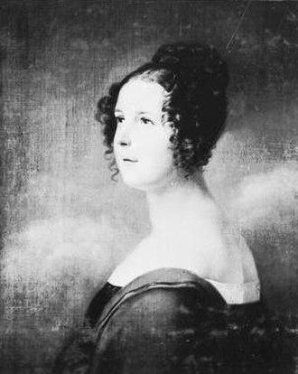Auguste of Anhalt-Dessau - Image: Amalie Auguste von Anhalt Dessau (1793 1854)