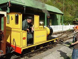 Amberley Museum Railway - Polar Bear in 2006