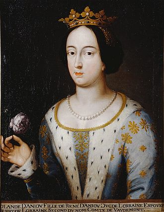 Yolande, Duchess of Lorraine - An imagined portrait of Yolande, dating from the 17th century