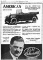 American Motors Corporation advert in Horseless Age v44 n4 1918-05-15 p7.png