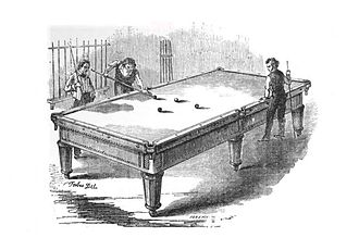 Billiard table - Table with Players