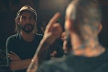 در حاشیه ضبط اولین کنسرت تلویزیونی امیر تتلو در برنامه بلور بنفش به تهیه کنندگی بهزاد بلور از شبکه بیبیسی فارسی (عکس از پوریا افخمی)