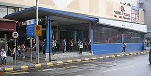 Ampang Park - Ampang Park station (Kelana Jaya Line) (secondary exit)