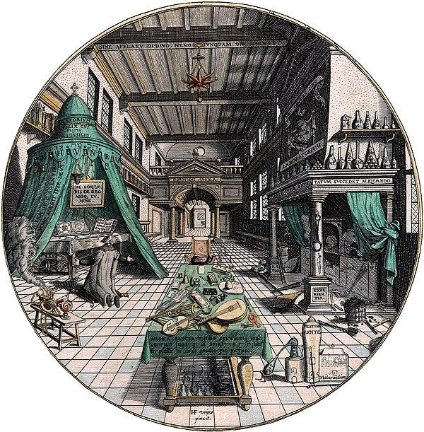 Amphitheatrum sapientiae aeternae - Alchemist's Laboratory.jpg