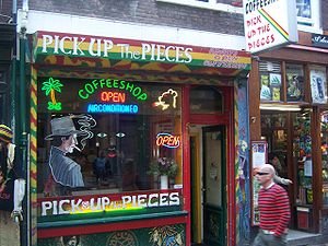 Coffeshop Pick Up The Pieces, Oude Hoogstraat ...