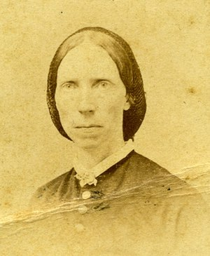Amy Morris Bradley - Image: Amy Morris Bradley Civil War nurse (cropped)