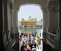 An entry view of Golden Temple (Amritsar, Punjab).jpg