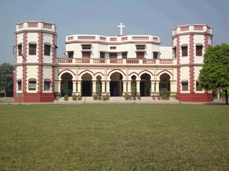 Anand Bhawan School - Front view of the old building