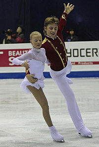 Anastasia MARTIUSHEVA Alexei ROGONOV Grand Prix Final 2008 Juniors FP.jpg